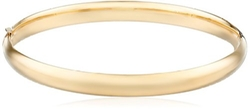 Yellow Gold Bangle Bracelet by Amazon Collection in Bridesmaids