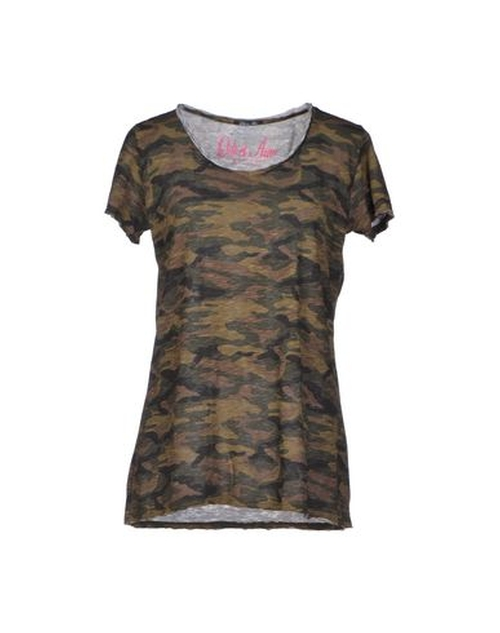 Camouflage T-Shirt by Odi Et Amo in Keeping Up With The Kardashians - Season 11 Episode 12