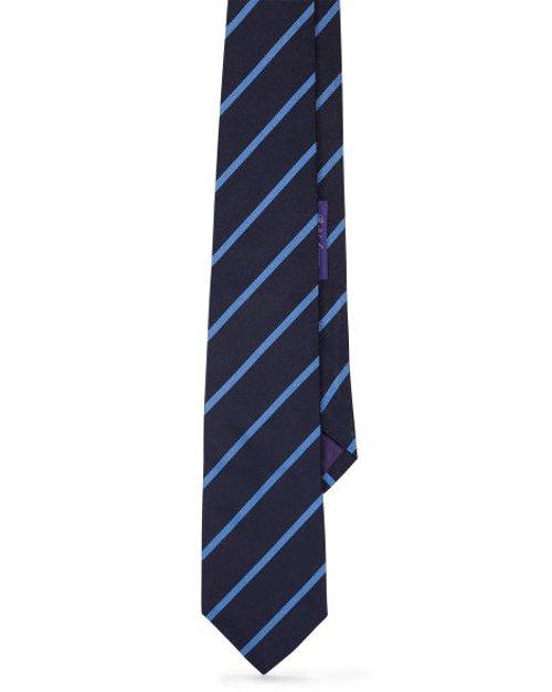 Striped Silk Repp Tie by Ralph Lauren in The Town