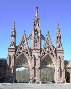 Brooklyn, New York by Green-Wood Cemetery in Daredevil