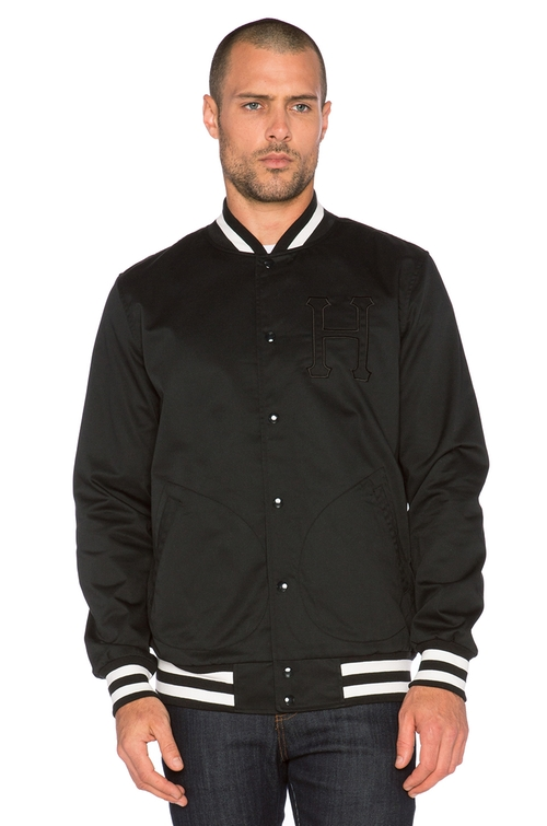 Classic Varsity Jacket by Huf in Sleeping with Other People