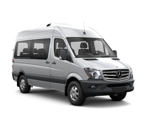 (Modified) Sprinter Passenger Van by Mercedes-Benz in Keeping Up With The Kardashians - Season 12 Episode 10