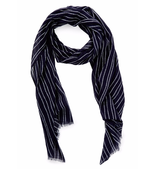 R. Rope Pinstripe Scarf by Gant Rugger in Chelsea