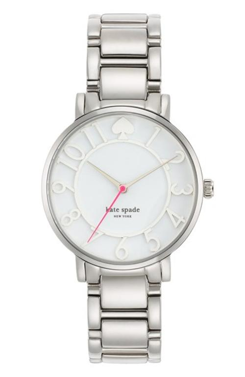 Gramercy Round Bracelet Watch by Kate Spade New York in Little Fockers