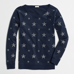 Blue Starry Sweatshirt by J.Crew Factory in Pitch Perfect 2