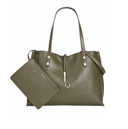 Extra Large Reversible Tote Bag by Calvin Klein in Guilt