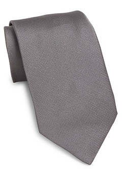 Solid Silk Tie by Valentino in Supergirl
