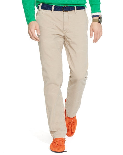 Straight-Fit Chino Pants by Polo Ralph Lauren in A Walk in the Woods