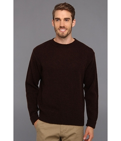 Shetland Crew Sweater by Pendleton in Brick Mansions