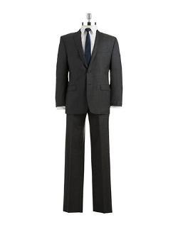 Modern Fit Two-Piece Suit by Calvin Klein in Interstellar