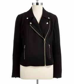 Lightweight Moto Jacket by Vince Camuto in Keeping Up With The Kardashians