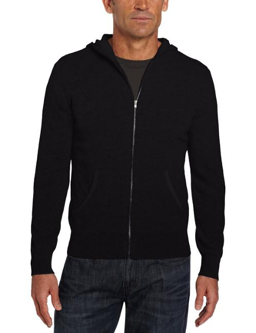 Men's 100% Cashmere Hoodie Sweater by Williams Cashmere in Wish I Was Here