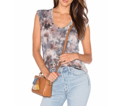 Ferrah Top by Young, Fabulous & Broke in Rosewood