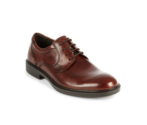 Atlanta Plain Toe Oxfords Shoes by Ecco in Blackhat