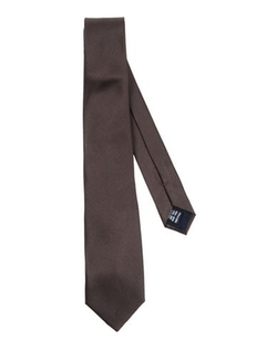 Solid Satin Tie by Valentino in Dr. No
