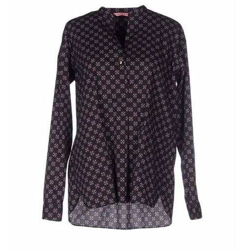 Patterned Blouse by Nouvelle Femme in Chelsea - Season 1 Episode 3