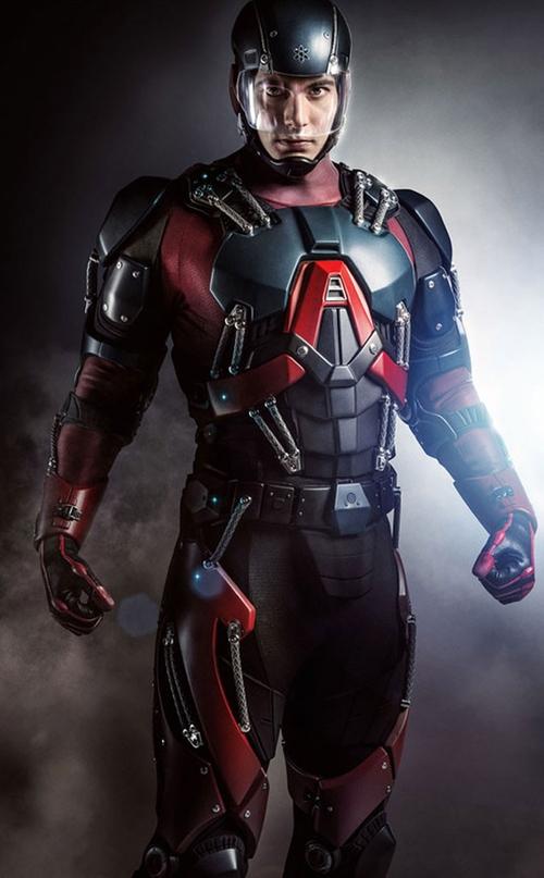 Custom Made 'Atom' Costume by Maya Mani (Costume Designer) in Arrow - Season 4 Episode 6