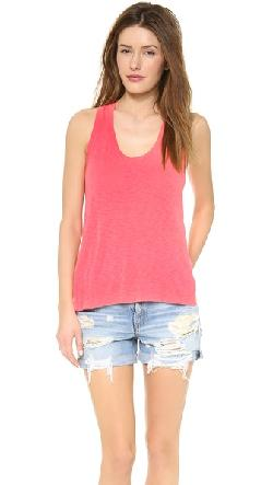 Slub Racer Back Tank by Splendid in Million Dollar Arm