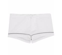 Seersucker Cotton Pajama Short by Bodas in American Made