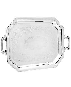 Octaganol Handled Tray by Godinger Serveware in Lee Daniels' The Butler