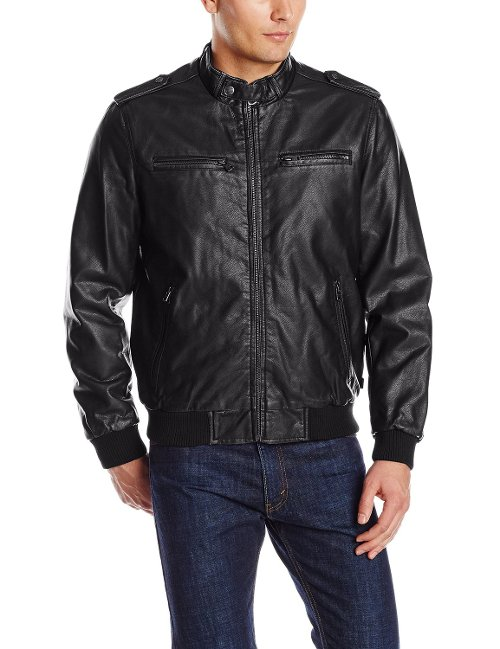 Men's Faux Leather Jacket by Levi's in Taken 3