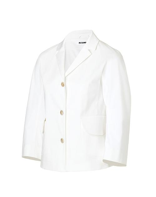 Stretch Cotton Crop Sleeve Blazer by Jil Saner in And So It Goes