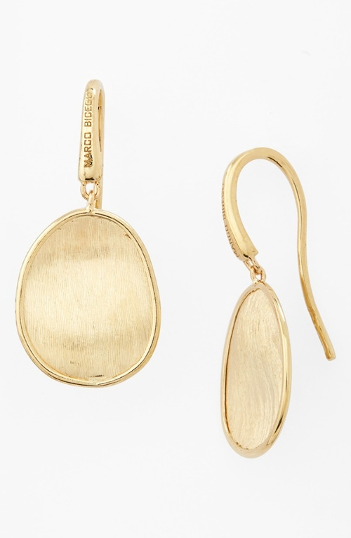 'Lunaria' Drop Earrings by Marco Bicego in The Second Best Exotic Marigold Hotel