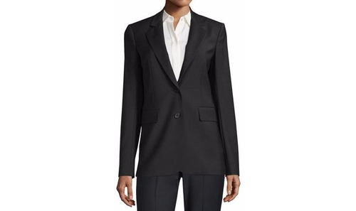Aaren Continuous Wool-Blend Jacket by Theory in Suits - Season 6 Episode 10