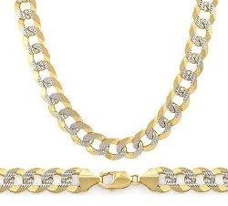 Mens Bracelet 14k White Yellow Gold by Jewel Tie in Taken 3