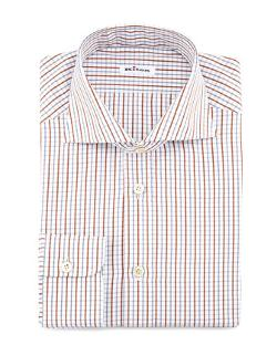 Check Dress Shirt by Kiton in Lucy