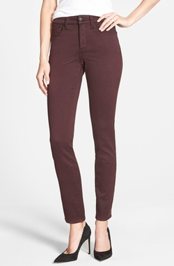 'Alina' Colored Stretch Skinny Jeans by NYDJ in If I Stay