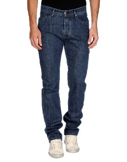 Straight Leg Denim Pants by Fay in That Awkward Moment