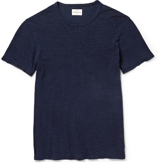 Garçon Slub Cotton And Silk-Blend T-Shirt by Simon Miller in Mr. & Mrs. Smith