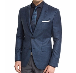 Jayson Houndstooth Two-Button Wool Sport Coat by Boss in Empire