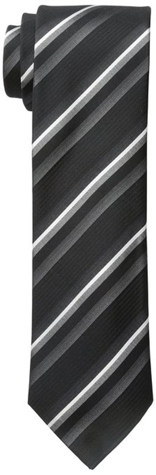 Men's Light Stripe Slim Tie by Kenneth Cole Reaction in Wish I Was Here
