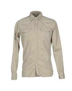 Long Sleeve Button Shirt by Department 5 in Hot Pursuit