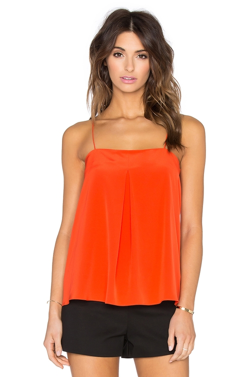 Front Pleat Camisole by Tibi in The Women