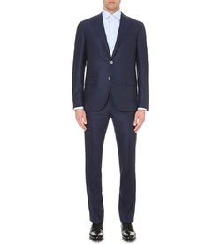 Regular-Fit Wool Suit by Corneliani in Scandal