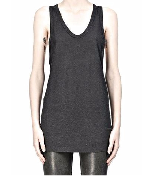 Slub Classic Tank Top by T By Alexander Wang in Keeping Up With The Kardashians - Season 12 Episode 1