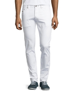Denim Straight-Leg Trousers by Diesel in Masterminds