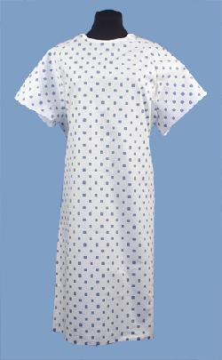 Brand Closure Hospital Gown by VELCRO in Transcendence