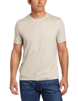 Men's Luxe Crew Neck T-Shirt by Perry Ellis in Million Dollar Arm