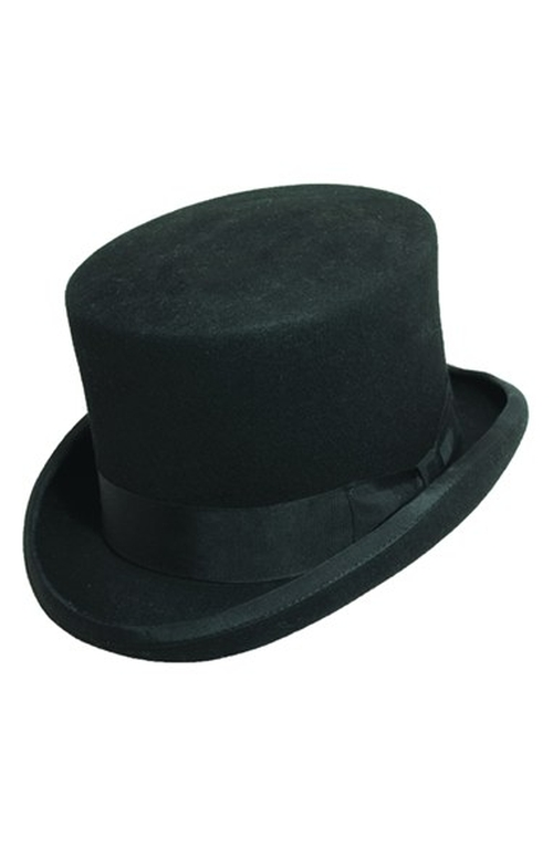 Wool Felt Top Hat by Scala in Sherlock Holmes: A Game of Shadows