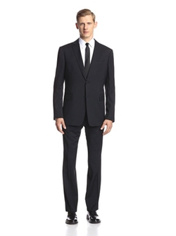Chad Two Button Suit by John Varvatos Collection in The Blacklist