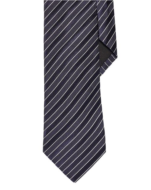 Striped Silk Tie by Ralph Lauren in Elementary - Season 4 Episode 4