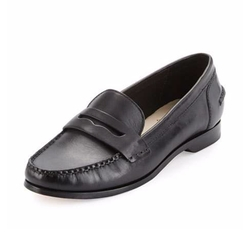 Pinch Grand Penny Leather Loafers by Cole Haan in Grace and Frankie