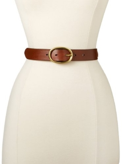 Oval Centerbar Belt by Fossil in Supergirl