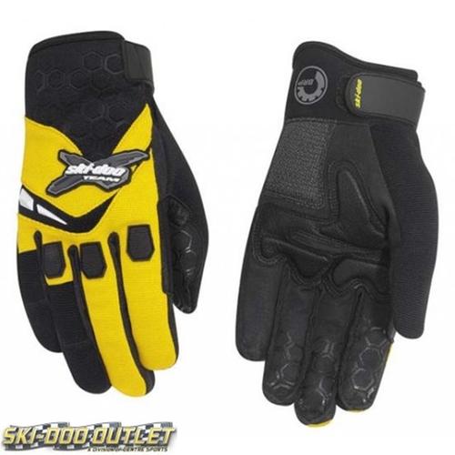 X-Team Crew Gloves by Ski-Doo in Everest