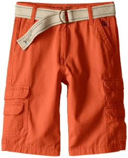 Boys 8-20 Cargo Belted Twill Short by U.S. Polo Assn. in Let's Be Cops