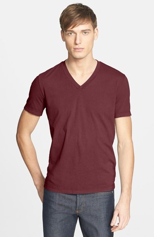 Jersey V-Neck T-Shirt by James Perse in If I Stay